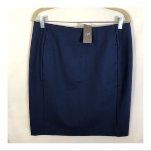 J. Jill Ponte Pencil Skirt, medium, NWT
